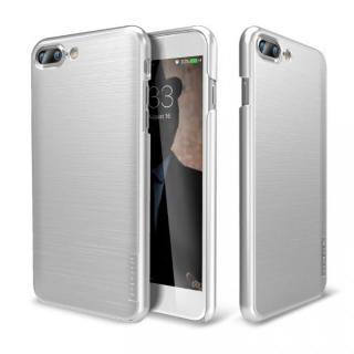 [8月特価]メタルライン風ハードケース META SLIM シルバー iPhone 7 Plus