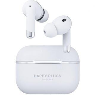 Happy Plugs AIR 1 ANCノイズキャンセリング 完全ワイヤレスイヤホン ホワイト