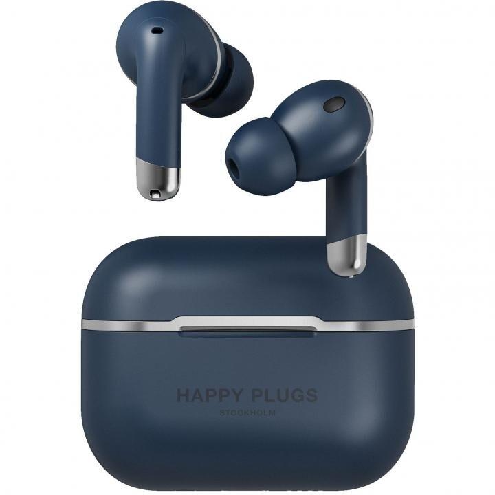Happy Plugs AIR 1 ANCノイズキャンセリング 完全ワイヤレスイヤホン ブルー_0