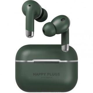 Happy Plugs AIR 1 ANCノイズキャンセリング 完全ワイヤレスイヤホン グリーン