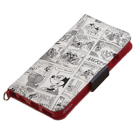 iDress ディズニー手帳型ケース ミッキーアンドフレンズ iPhone 6s
