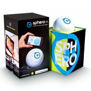 iPhone で動かすボール型ロボット Sphero(スフィーロ) 2.0 white