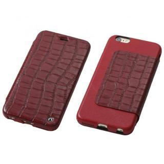 Deff Luxury 天然レザー手帳型ケース レッド iPhone 6s Plus/6 Plus
