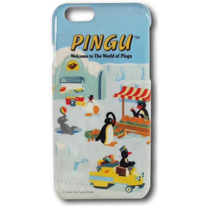 iPhone6 ケース ピングー ハードケース ピングーと仲間たち iPhone 6ケース_0