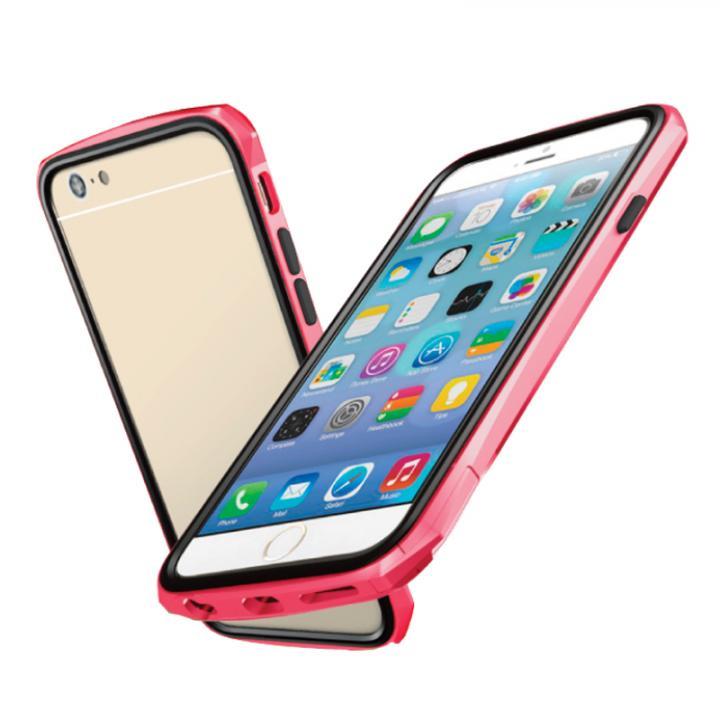 工具不要 かんたん着脱バンパー ODOYO BLADE EDGE レッド iPhone 6バンパー