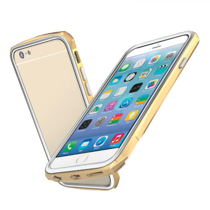【iPhone6ケース】工具不要 かんたん着脱バンパー ODOYO BLADE EDGE ゴールド iPhone 6バンパー_0