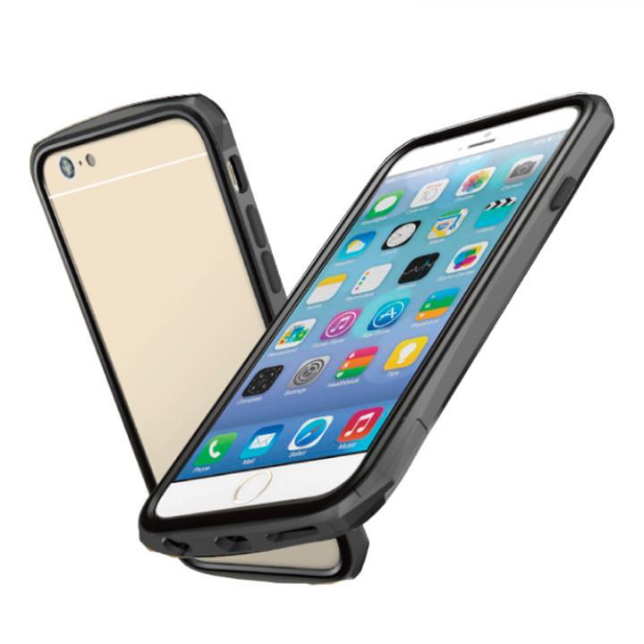【iPhone6ケース】工具不要 かんたん着脱バンパー ODOYO BLADE EDGE グレイ iPhone 6バンパー_0