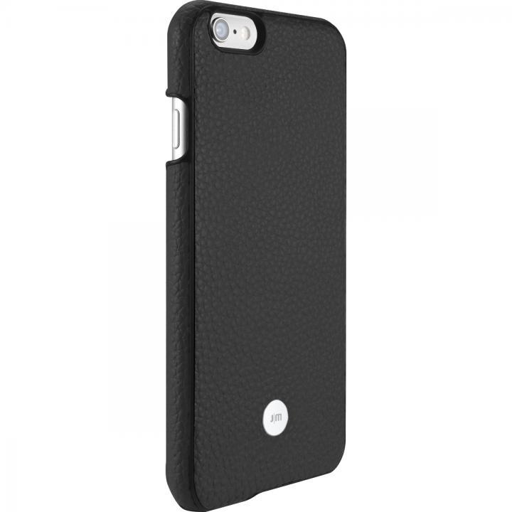 【iPhone6s/6ケース】Just Mobile 本革ケース ブラック iPhone 6s/6_0
