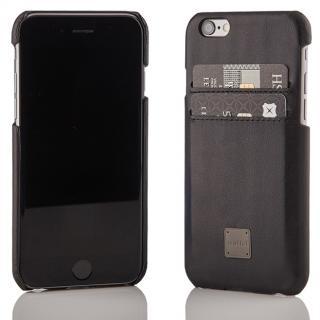 truffol ICカード対応 カウハイドレザーケース ブラック iPhone 6s/6