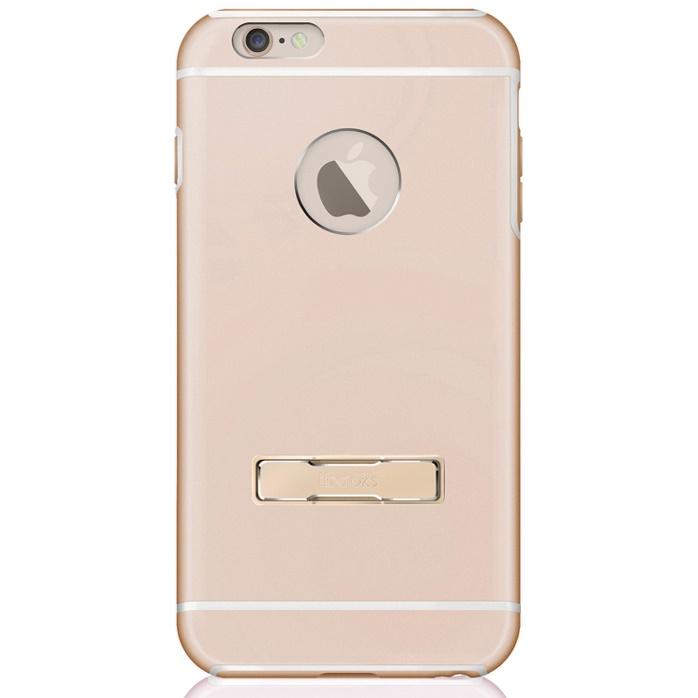 【iPhone6s/6ケース】耐衝撃アルミケース ibacks Ares Armor-KS ゴールド iPhone 6s/6_0