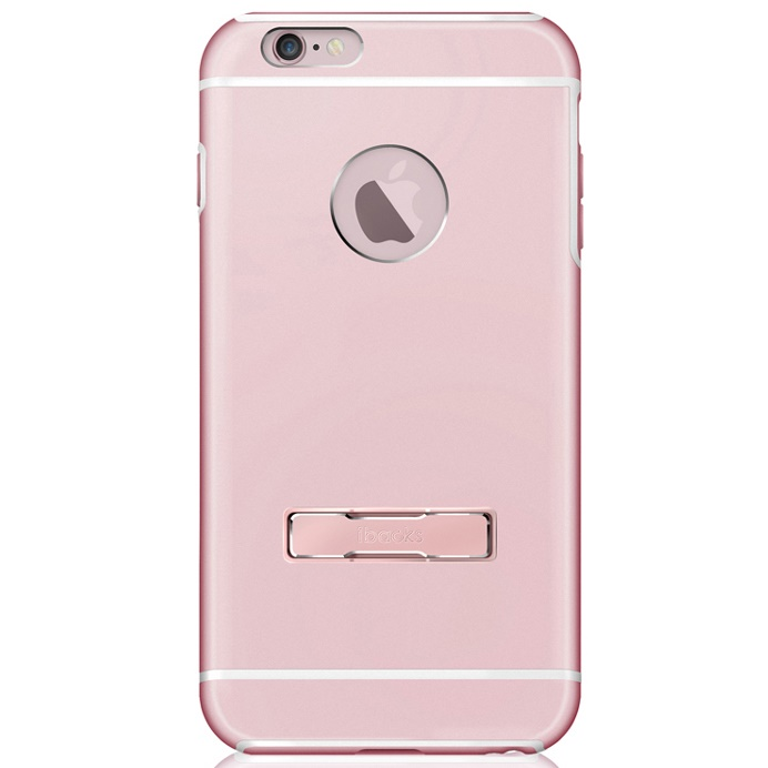 iPhone6s/6 ケース 耐衝撃アルミケース ibacks Ares Armor-KS ローズピンク iPhone 6s/6_0