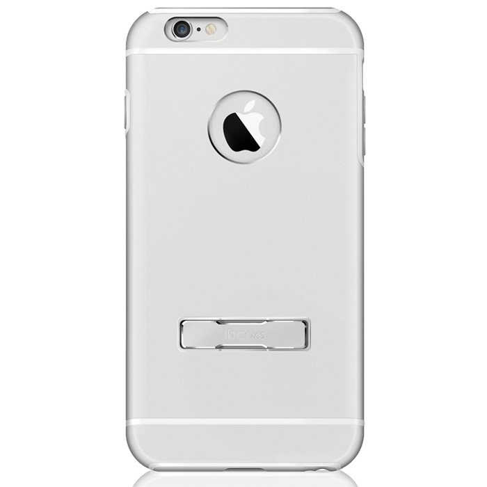 耐衝撃アルミケース ibacks Ares Armor-KS シルバー iPhone 6s Plus/6 Plus