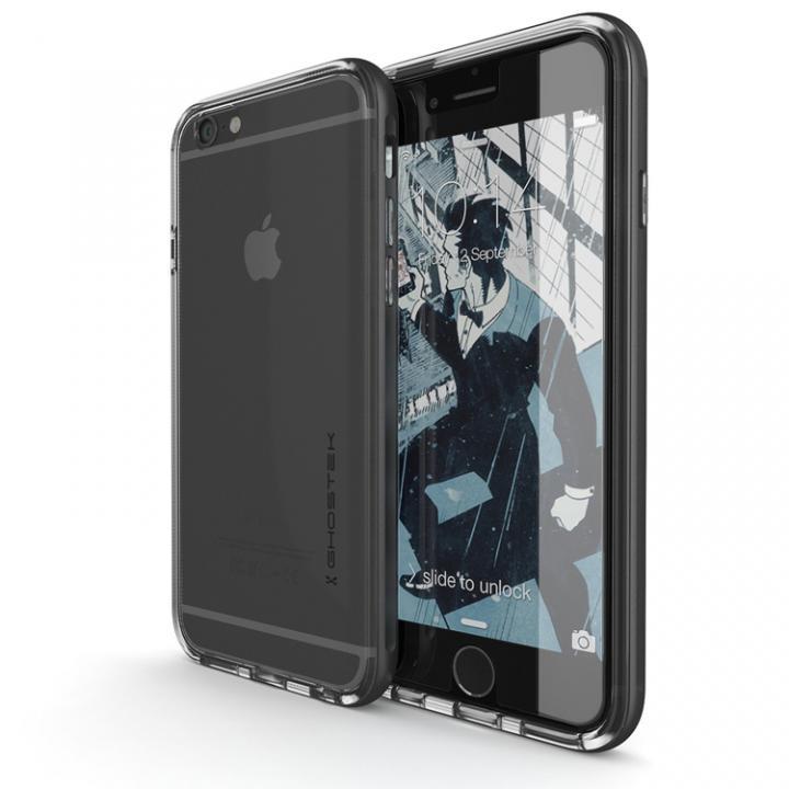 強化ガラス付アルミケース Ghostek Cloak スペースグレイ iPhone 6s/6