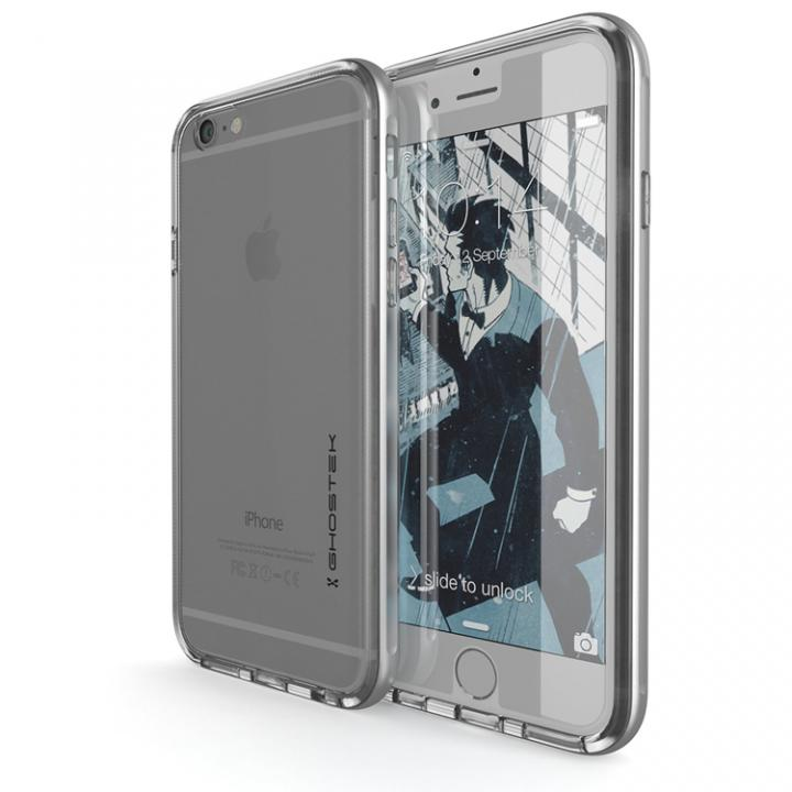 iPhone6s/6 ケース 強化ガラス付アルミケース Ghostek Cloak シルバー iPhone 6s/6_0