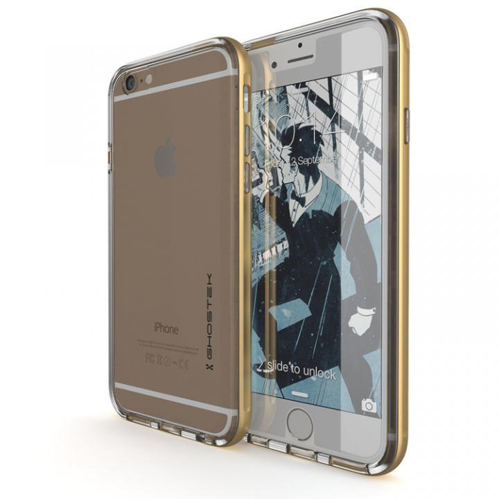 iPhone6s/6 ケース 強化ガラス付アルミケース Ghostek Cloak ゴールド iPhone 6s/6_0
