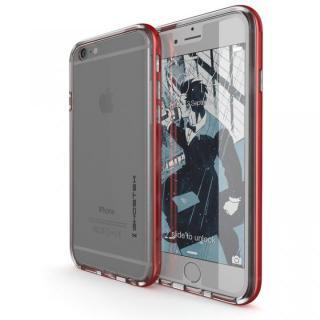 iPhone6s/6 ケース 強化ガラス付アルミケース Ghostek Cloak レッド iPhone 6s/6