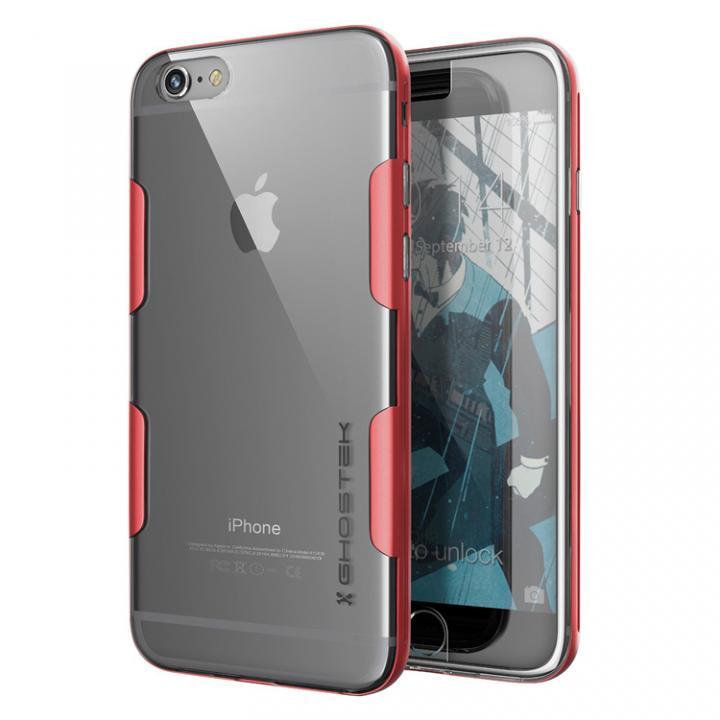 iPhone6s Plus/6 Plus ケース 強化ガラス付アルミケース Ghostek Cloak レッド iPhone 6s Plus/6 Plus_0