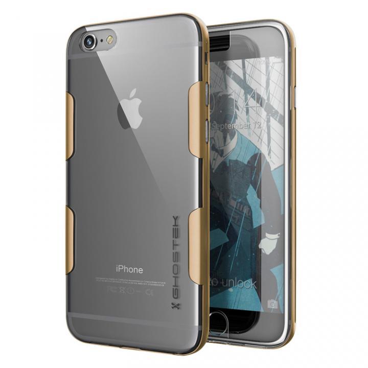 【iPhone6s Plus/6 Plusケース】強化ガラス付アルミケース Ghostek Cloak ゴールド iPhone 6s Plus/6 Plus_0