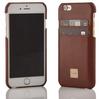 truffol ICカード対応 カウハイドレザーケース ブラウン iPhone 6s/6