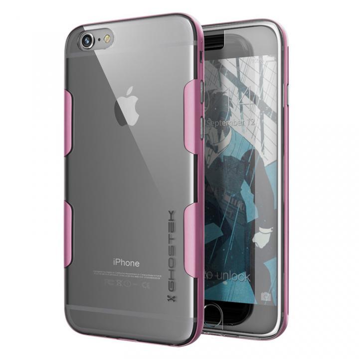【iPhone6s Plus/6 Plusケース】強化ガラス付アルミケース Ghostek Cloak ローズピンク iPhone 6s Plus/6 Plus_0