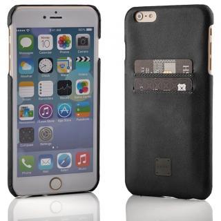 [2017夏フェス特価]truffol ICカード対応 カウハイドレザーケース ブラック iPhone 6s Plus/6 Plus