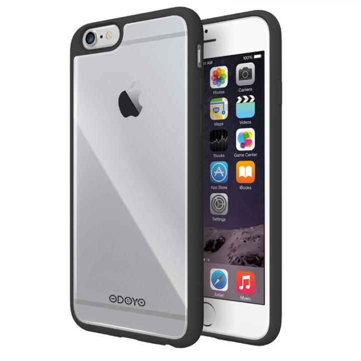 【iPhone6s Plus/6 Plusケース】ODOYO Grip Edge TPUケース ブラック iPhone 6s Plus/6 Plus_0