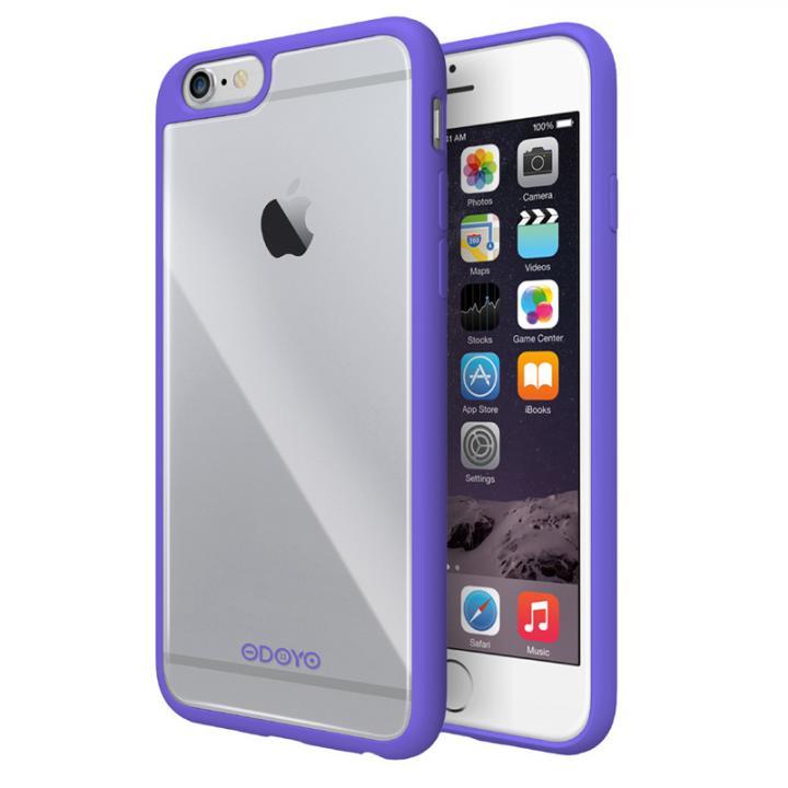 iPhone6s Plus/6 Plus ケース ODOYO Grip Edge TPUケース パープル iPhone 6s Plus/6 Plus_0
