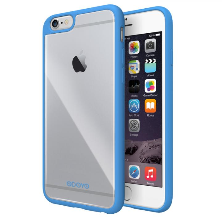 iPhone6s Plus/6 Plus ケース ODOYO Grip Edge TPUケース ブルー iPhone 6s Plus/6 Plus_0