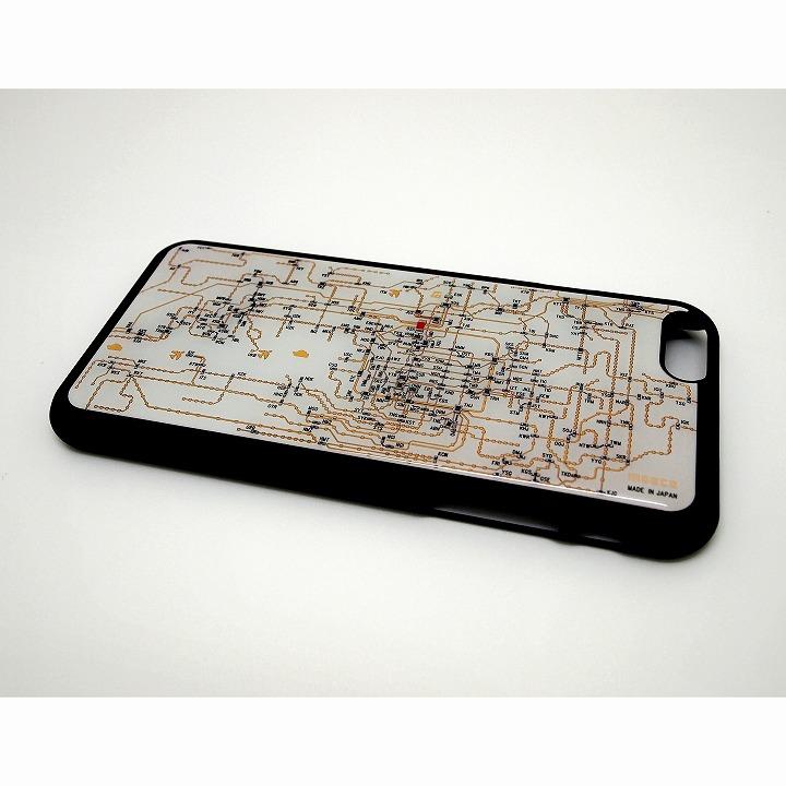 関西回路線図 白 iPhone 6ケース