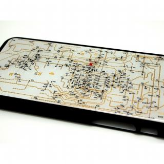 【iPhone6ケース】関西回路線図 白 iPhone 6ケース_1