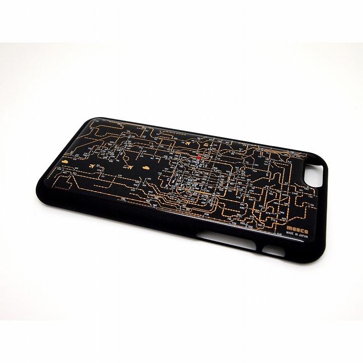 関西回路線図 黒 iPhone 6ケース