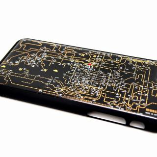 【iPhone6ケース】関西回路線図 黒 iPhone 6ケース_1