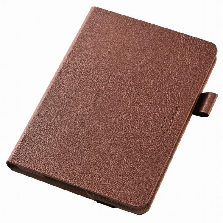 360度回転スタンド ソフトレザーケース ブラウン iPad mini 4_0