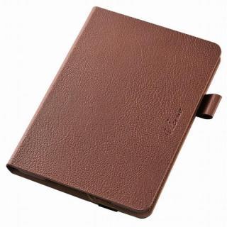 360度回転スタンド ソフトレザーケース ブラウン iPad mini 4