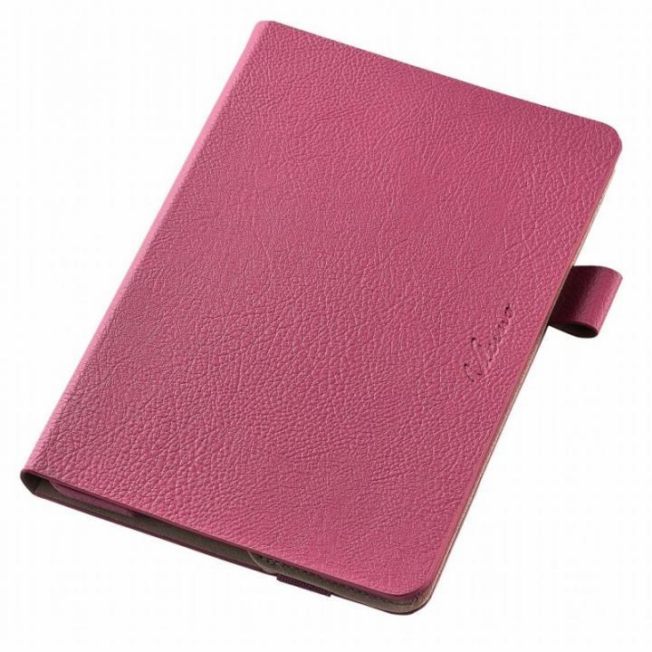 360度回転スタンド ソフトレザーケース ピンク iPad mini 4_0