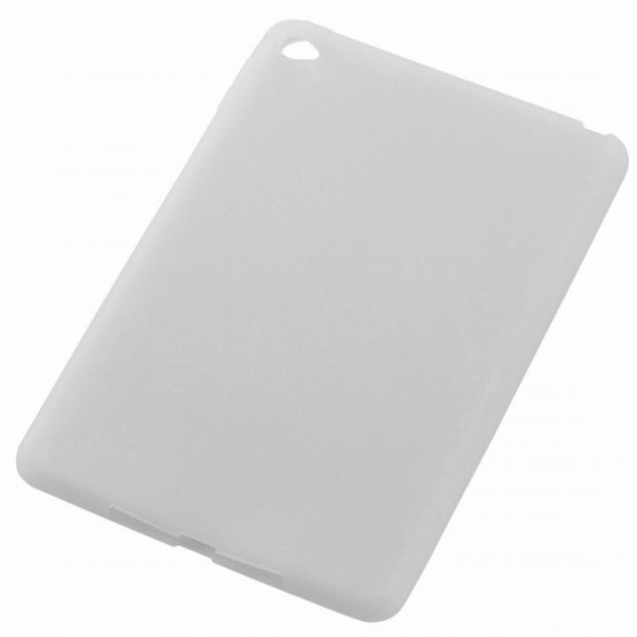 シリコンケース アンチダスト クリア iPad mini 4_0