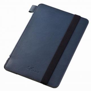 4アングルスタンド ソフトレザーケース ブルー iPad mini 4