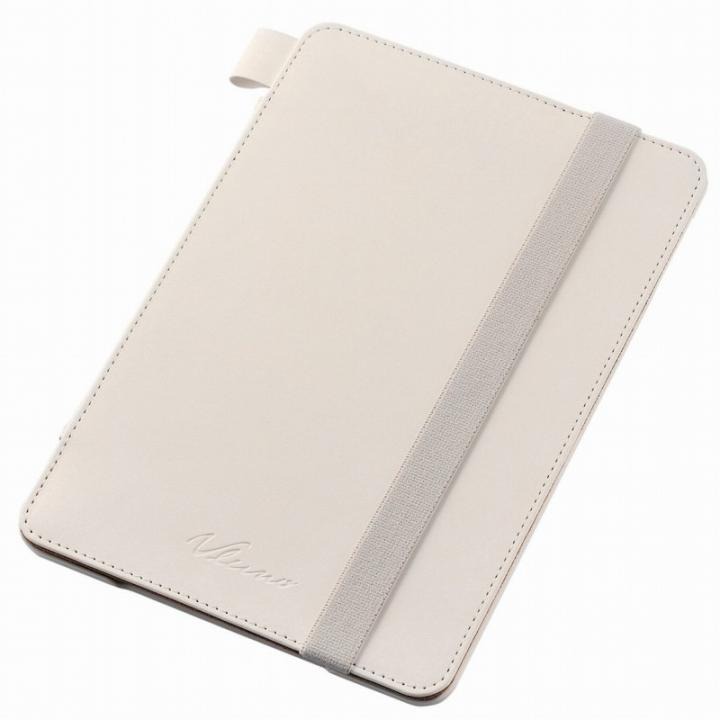 4アングルスタンド ソフトレザーケース ホワイト iPad mini 4_0