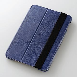 2アングルスタンド ソフトレザーケース ブルー iPad mini 4