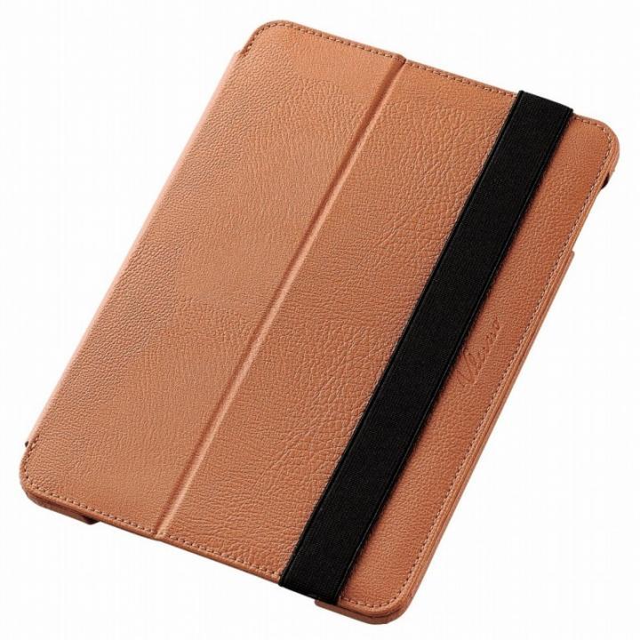 2アングルスタンド ソフトレザーケース ブラウン iPad mini 4_0