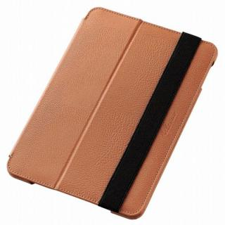 2アングルスタンド ソフトレザーケース ブラウン iPad mini 4