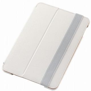 2アングルスタンド ソフトレザーケース ホワイト iPad mini 4