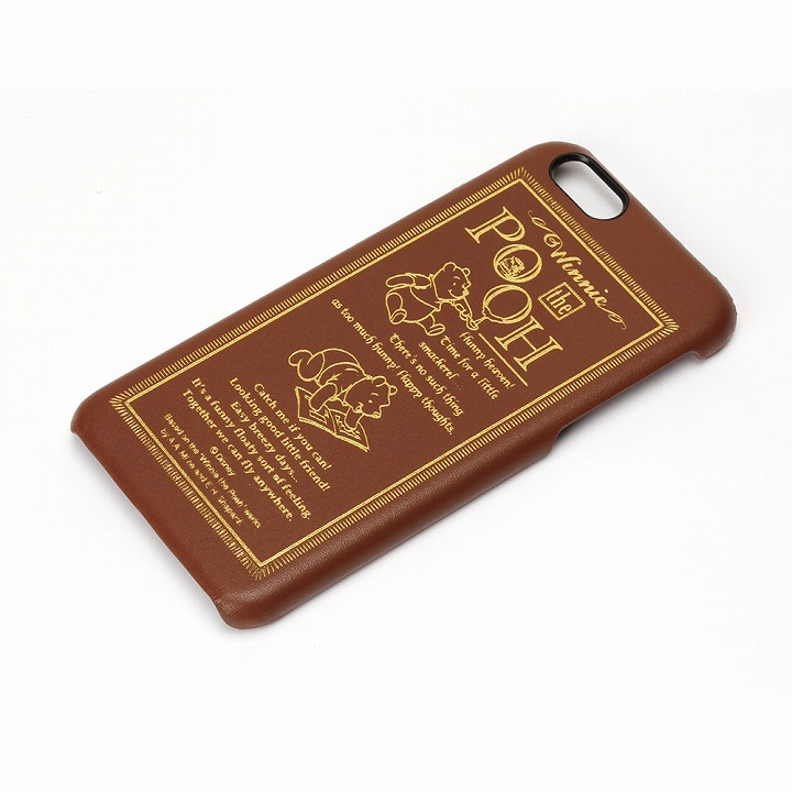 ディズニーレザーハードケース くまのプーさん iPhone 6ケース