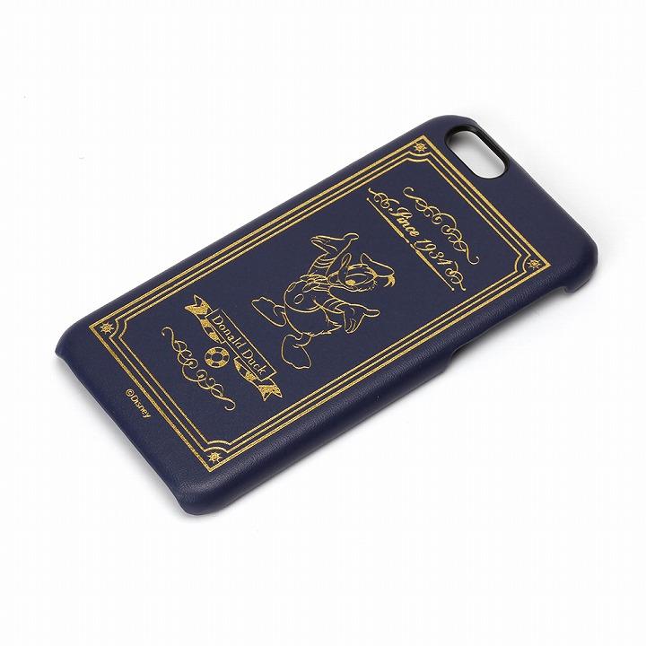 【iPhone6ケース】ディズニーレザーハードケース ドナルドダック iPhone 6ケース_0