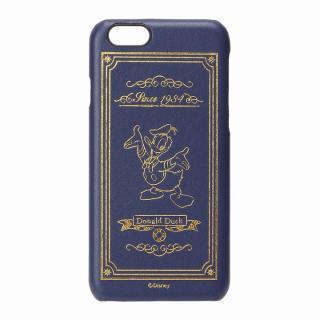 【iPhone6ケース】ディズニーレザーハードケース ドナルドダック iPhone 6ケース_1