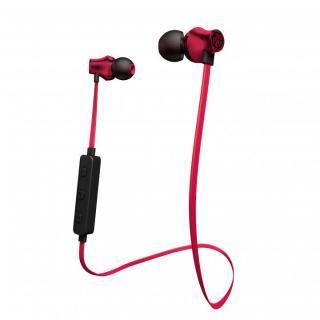 Bluetooth対応アルミタイプ高音質イヤホンマイク レッド