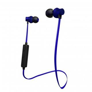 Bluetooth対応アルミタイプ高音質イヤホンマイク ダークブルー