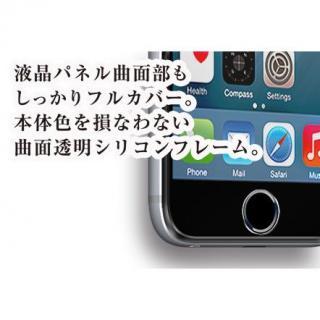 【iPhone6s/6フィルム】[0.33mm]ソフトフレーム付き 強化ガラスフィルム ブラック iPhone 6s_3