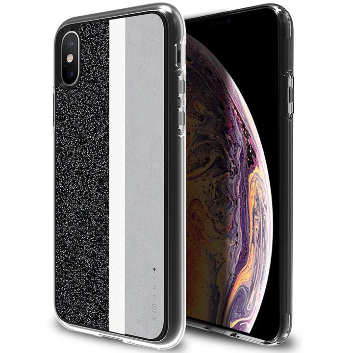 iPhone XS/X ケース Athand Stripe デザインケース グレイ iPhone XS/X_0