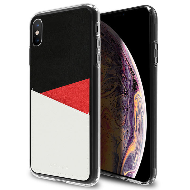 iPhone XR ケース Athand O1 バックポケットケース レッド iPhone XR_0